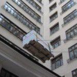 подъем груза на высоту в окно