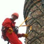 высотный монтаж промышленными альпинистами