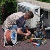 Монтаж кондиционера в корзину